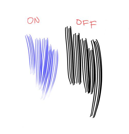 Brush transfer comparison