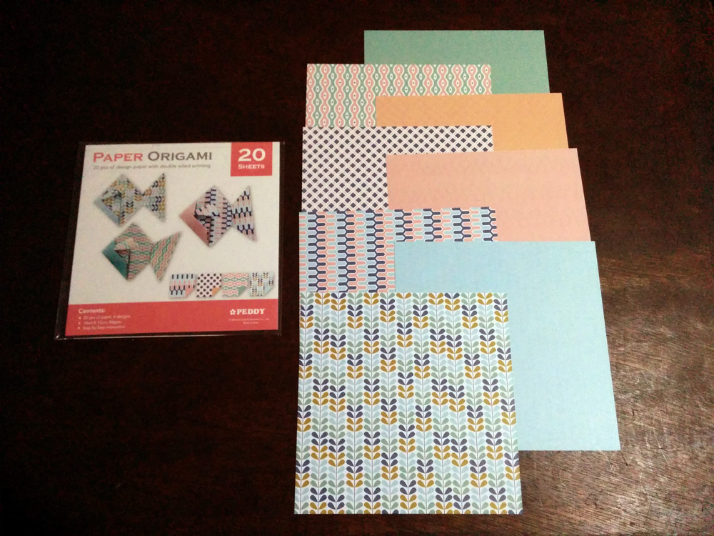 Patterned Papers Haul Andiemaginary Cool Patterned Origami Paper