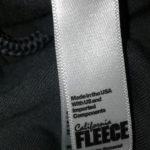 Society6 hoodie tag