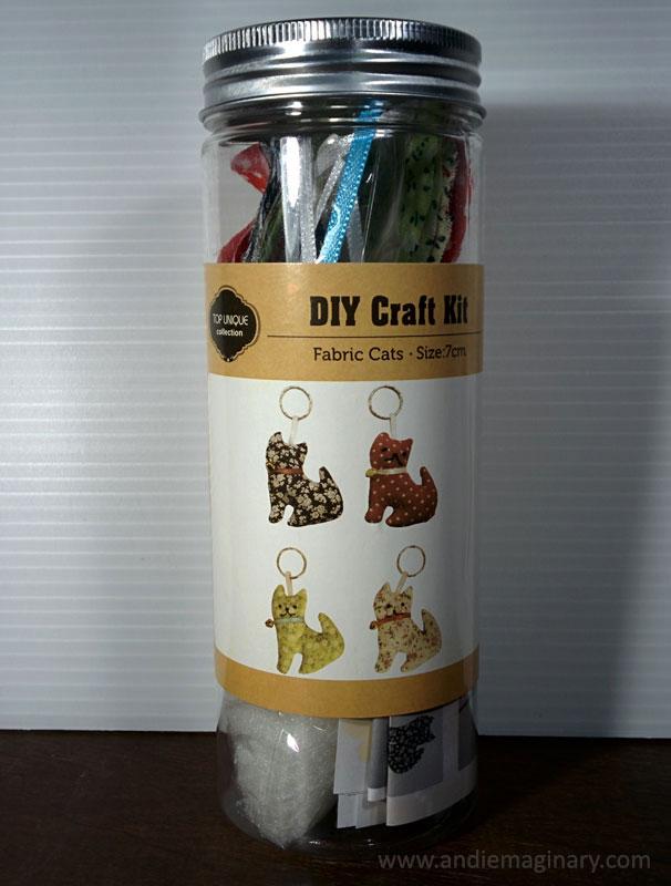 Diy Cat Keychain Craft Kit Andiemaginary